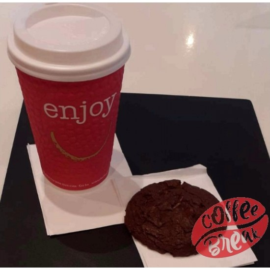 Large Hot Drink and a Cookie